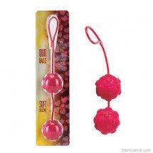 Duo Balls szívecskés gésagolyó